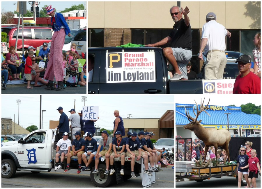Here are a few pictures from the DuBois Fireman's Parade on Saturday.