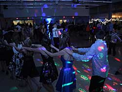 I had a great time DJing the Snowball Dance at the Brookville High School last evening.