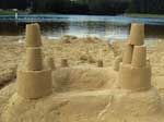 Here are a few Sunday Sand Castle Masterpieces created @ Parker's Dam State Park! Come out sometime this summer and create your own work of art.