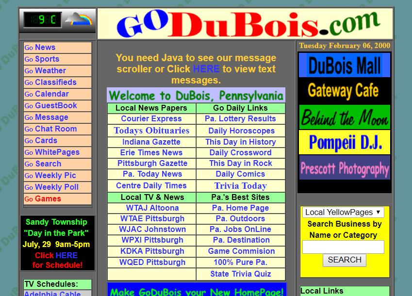 Godubois In February 2000 Local History Forum Goduboiscom