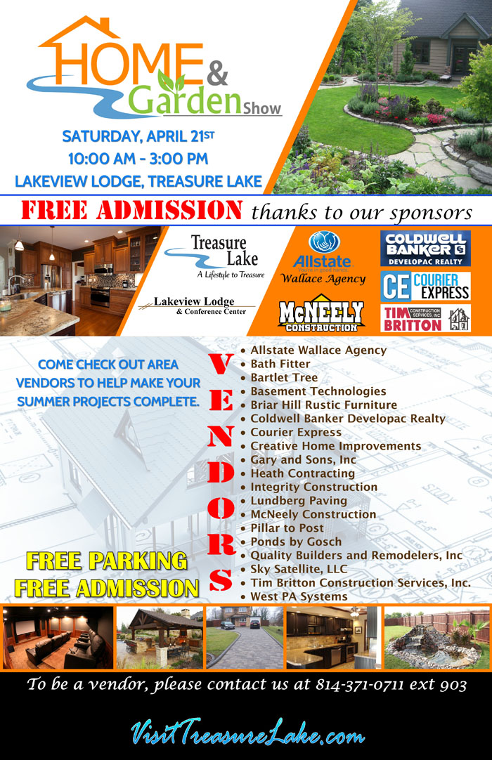 Home Garden Show At Lakeview Lodge 421 Community Events