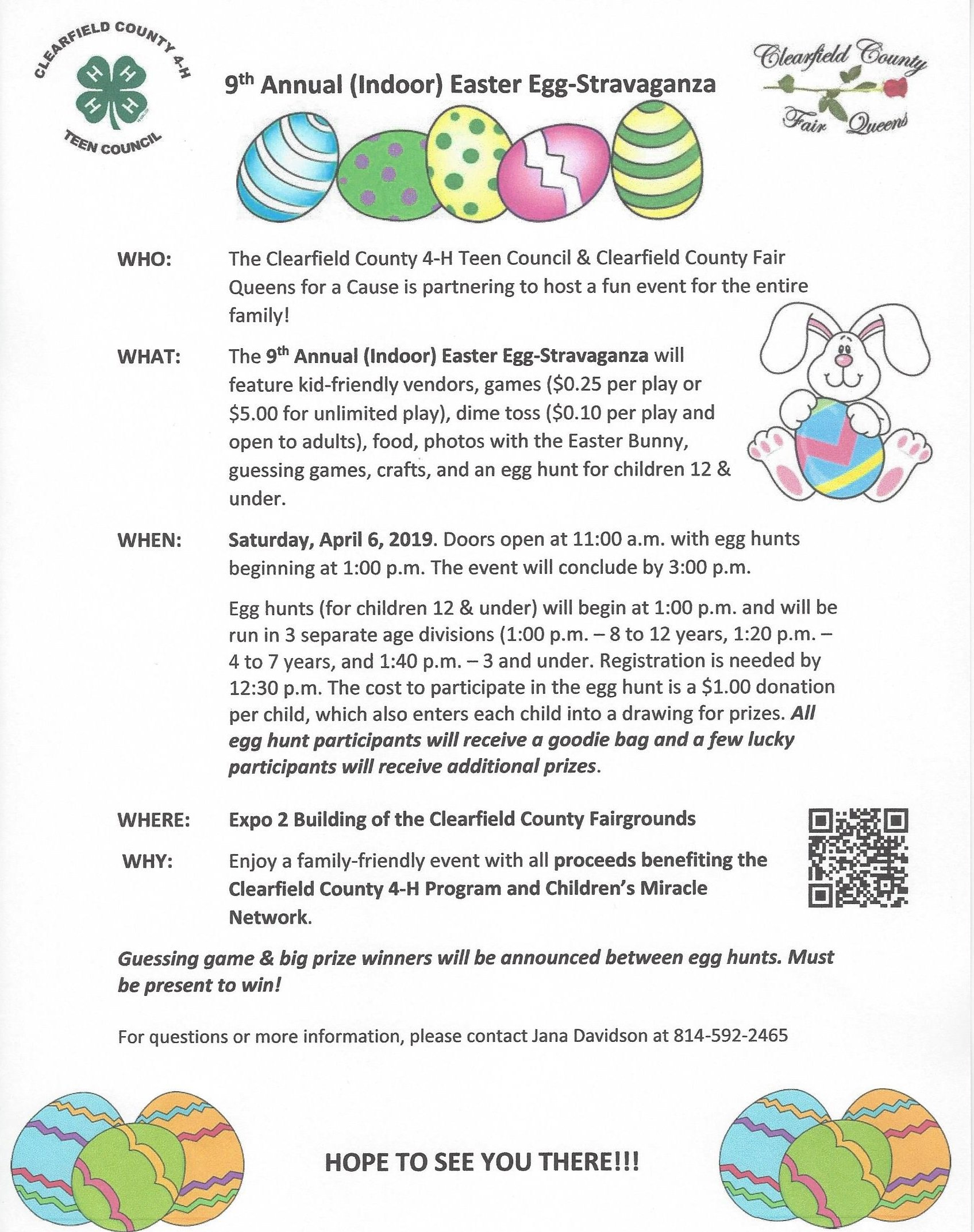 9th Annual Indoor Easter Egg-Stravaganza 4/6 - Community