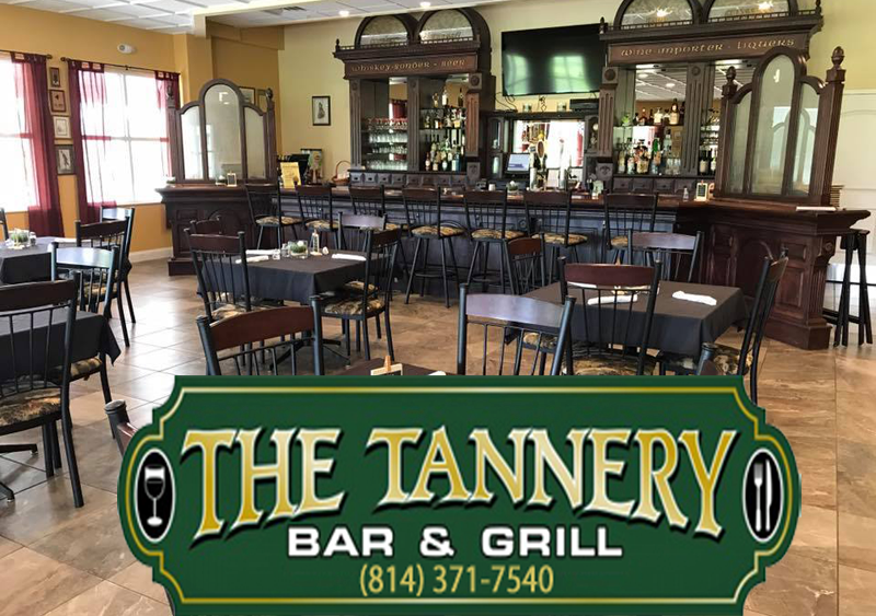 The Tannery Bar & Grill Weekly Specials