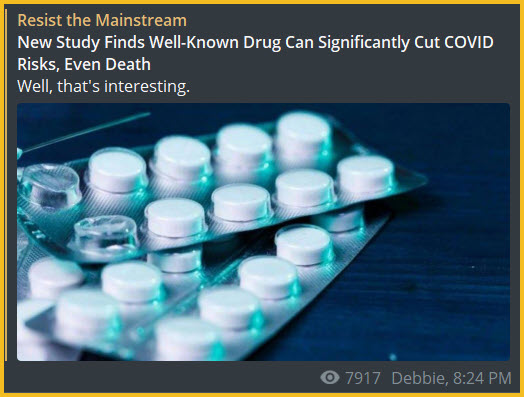 https://resistthemainstream.org/new-study-finds-well-known-drug-can-significantly-cut-covid-risks-even-death/?utm_source=telegram